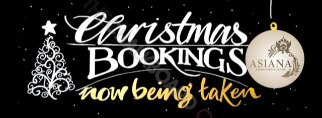 Christmas booking